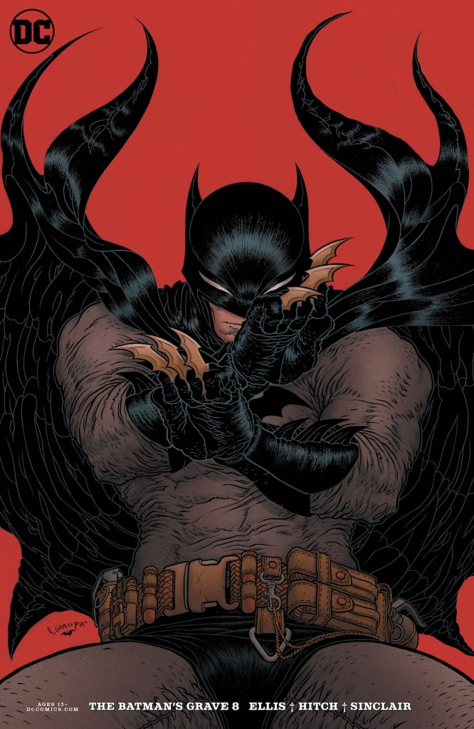 DC Preview: The Batman's Grave #8