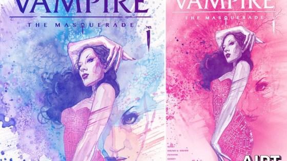 Vault Comics reveals David Mack 'Vampire: The Masquerade' #1 variant covers