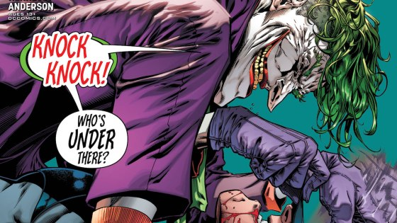 Just when you thought it was safe to crack a smile, The Joker is back to crash the party in Detective Comics.