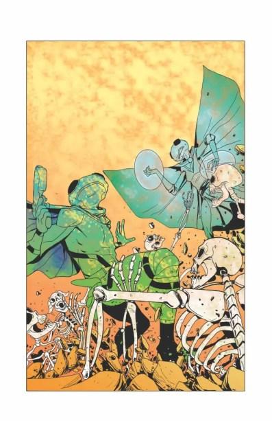 'Digital Lizards of Doom' is a multi-colored pop culture jawbreaker