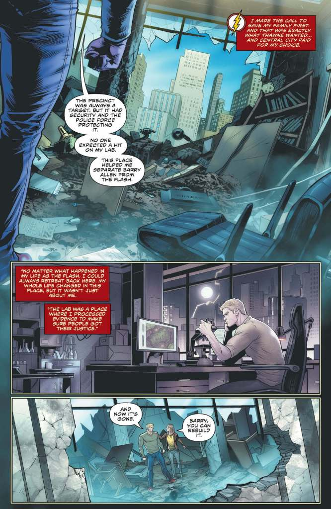 DC Preview: The Flash #758