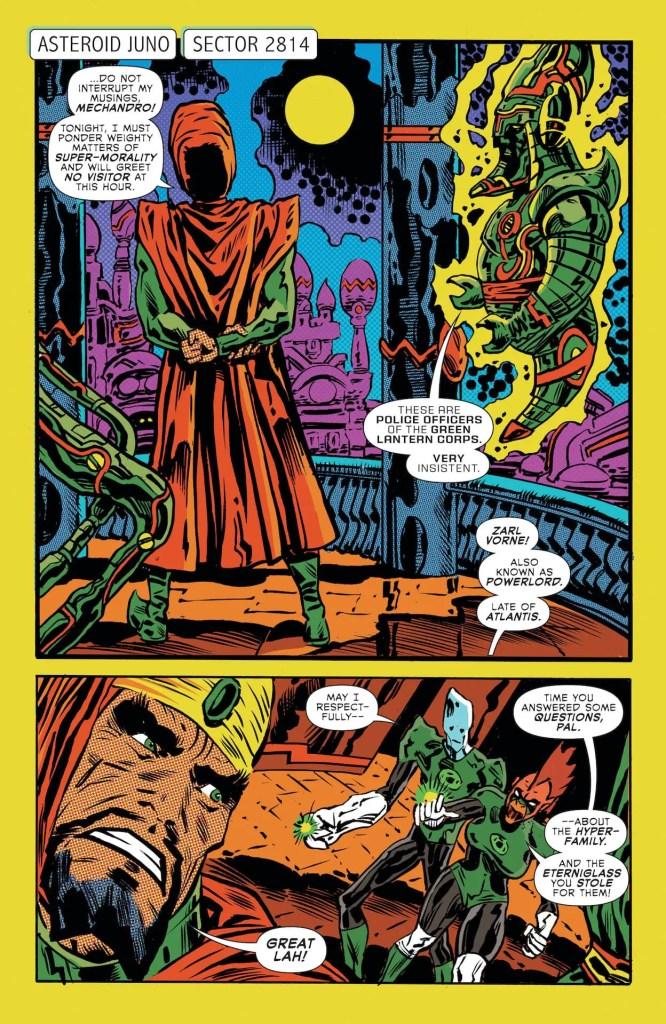 DC Preview: The Green Lantern Season Two #5