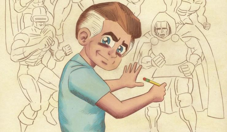 Radio hyped the comic book star: Exploring Jack Kirby's life via audio drama