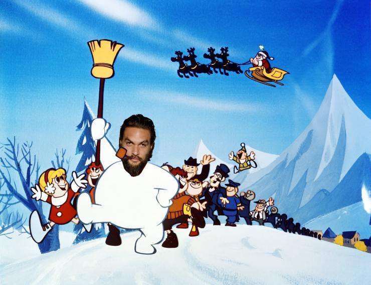 Frosty the Snowman Jason Mamoa