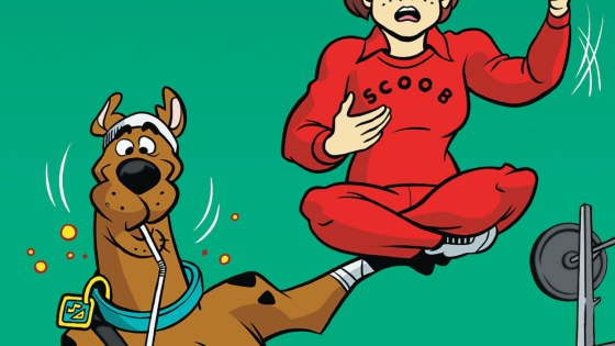 A mysterious giant is bringing chaos to a local gym. Can Scooby and the gang stop him and save the day?