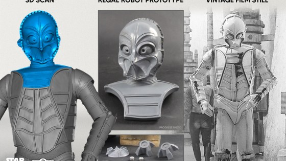 Regal Robot's new Star Wars CZ-3 bust is available to order