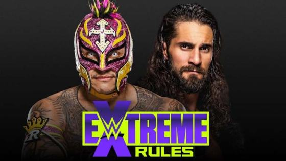 Rey Mysterio and Seth Rollins' upcoming fight has a gruesome stipulation.