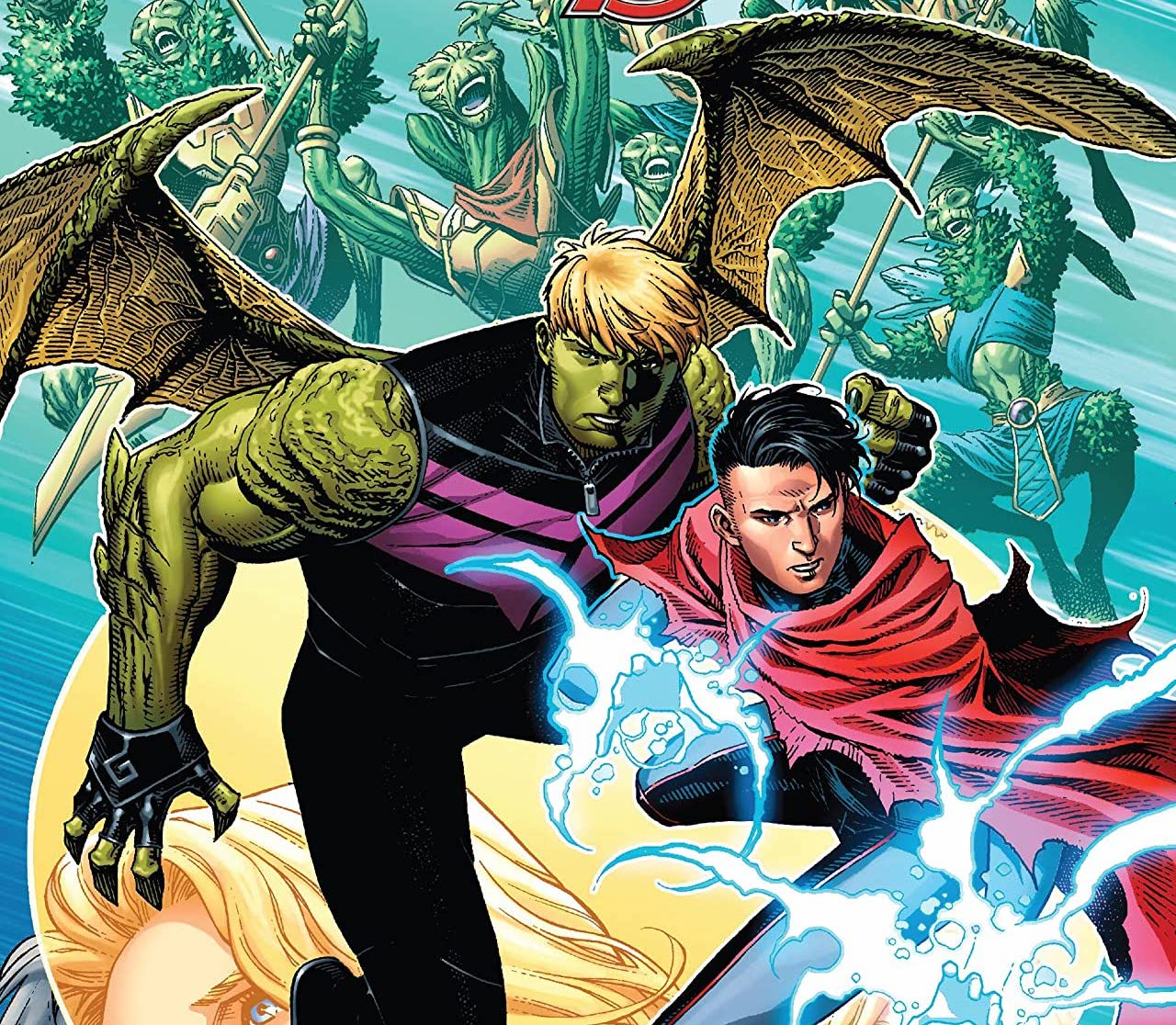 'Empyre' #5 review: Love, high stakes, and rich, heroic moments