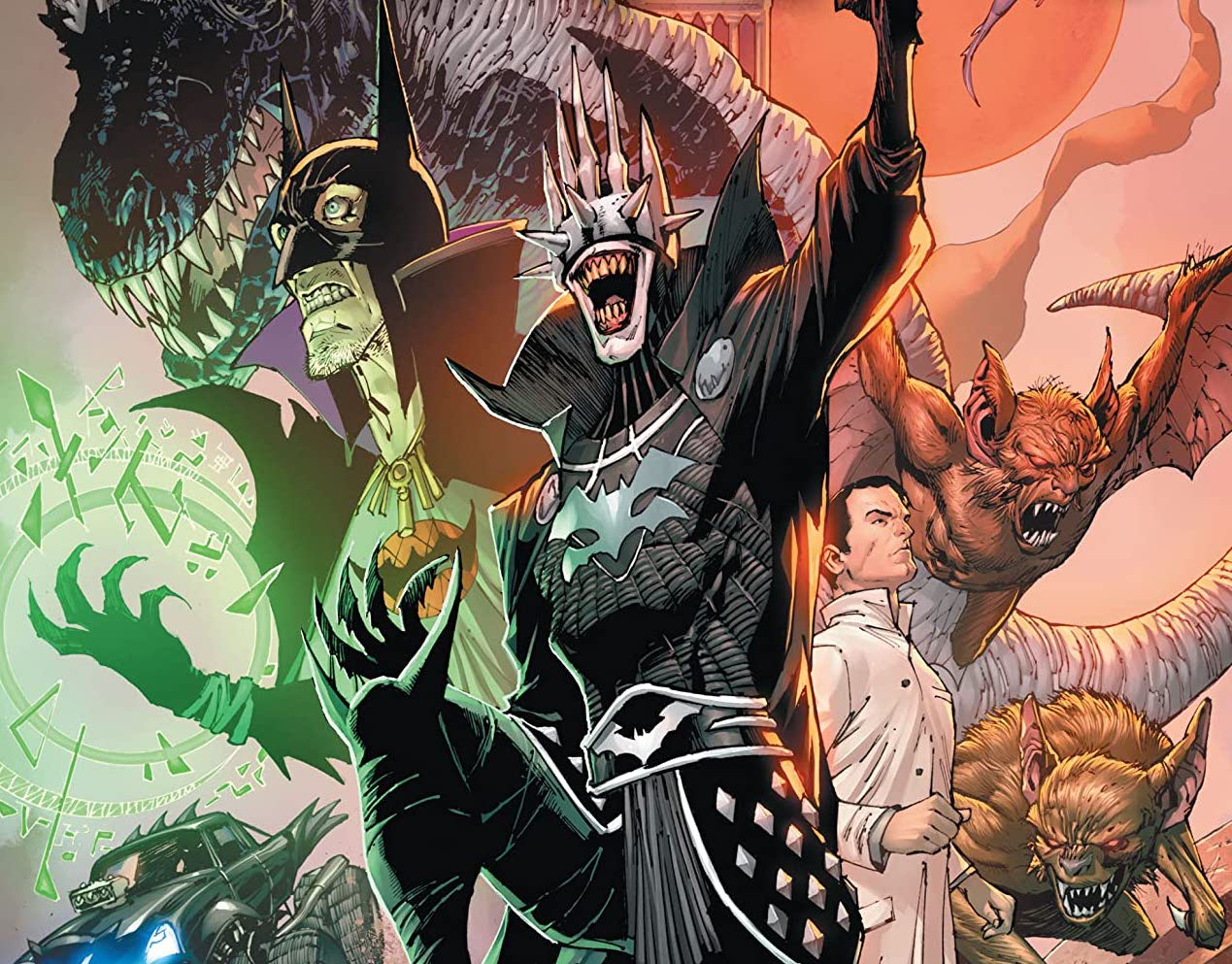 'Dark Nights: Death Metal: Legends of the Dark Knights' #1 review
