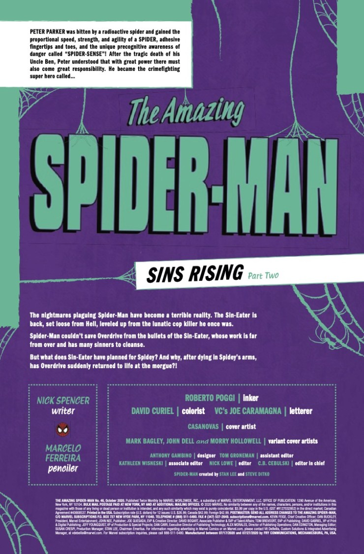 Marvel Preview: Amazing Spider-Man #46