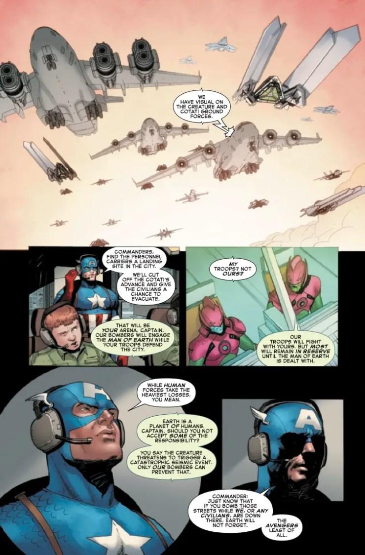 Marvel Preview: Empyre: Captain America #3