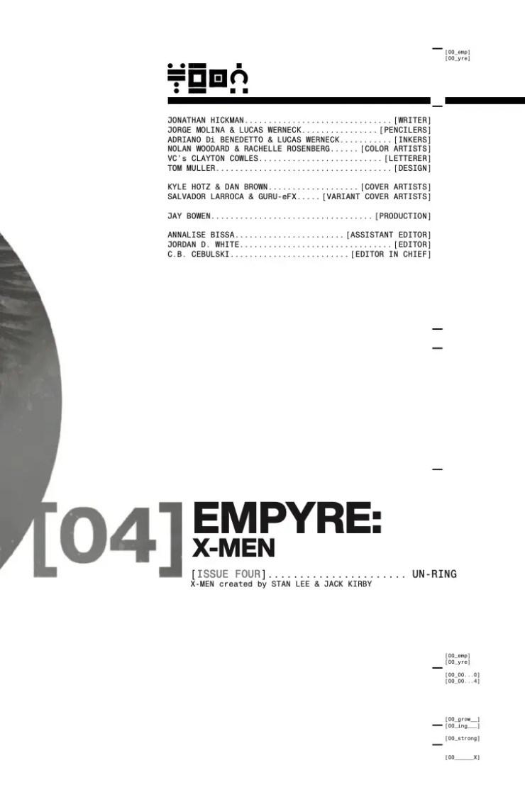 Marvel Preview: Empyre: X-Men #4