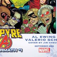 'Empyre: Avengers Aftermath' #1 to celebrate the union of two Marvel heroes