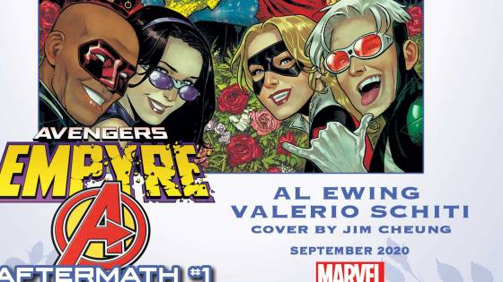 Empyre: Avengers Aftermath is out this September and it'll be a celebration for the ages.