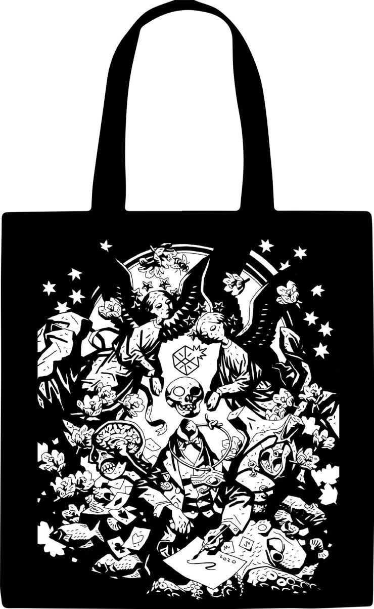 LightboxExpo Online Mike Mignola Bag