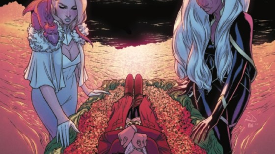 In Marauders #11, THE QUEEN IS DEAD!