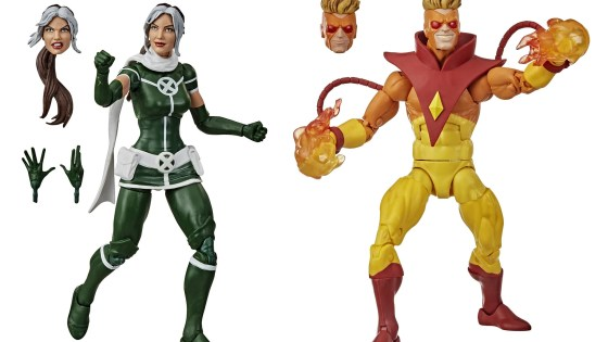 Marvel Legends Rogue/Pyro