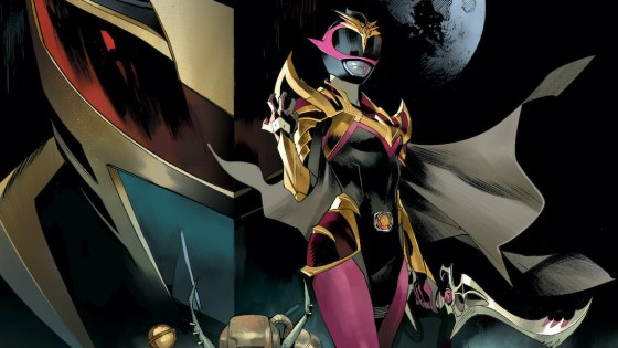 Power Rangers: Drakkon New Dawn #1 follows the events of Power Rangers: Ranger Slayer #1.