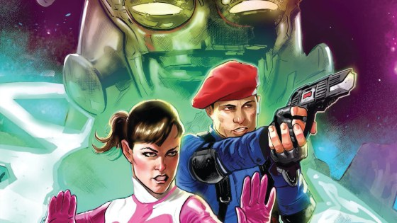 In Power Rangers: Sins of the Future, the timelines have been altered with deadly consequences and Jen is to blame!