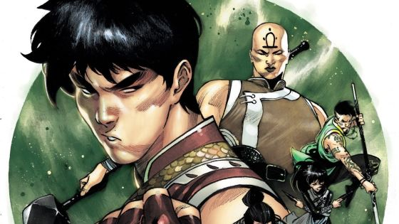 Dike Ruan's 'Shang-Chi' #1 cover reveals The Five Weapons Society