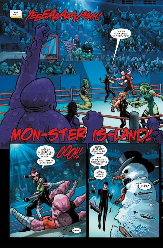 Marvel Preview: Strikeforce #9