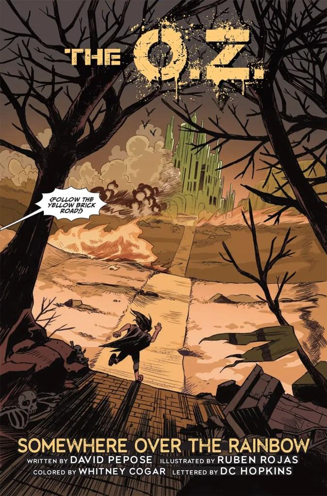 Kickstarter Alert: David Pepose discusses new comic series 'The O.Z.'