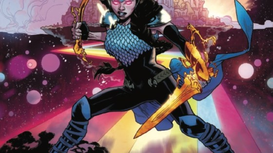 VALKYRIE RETURNS TO ASGARD AT LAST – ONLY TO SEE IT FALL!