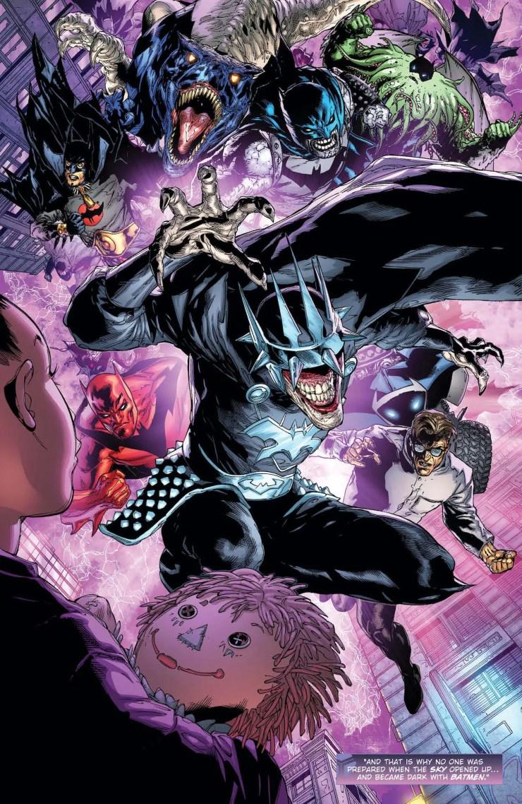 DC Preview: Dark Nights: Death Metal Guidebook #1