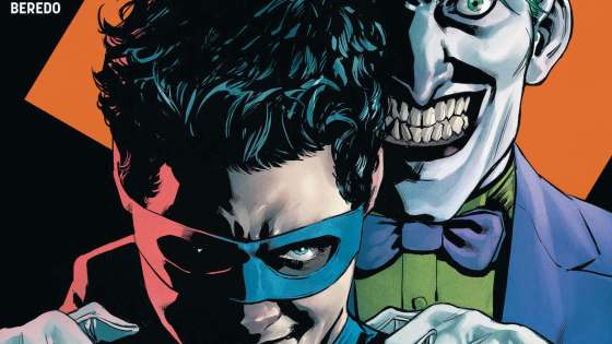 "The Joker knows Dick Grayson is Nightwing-and the plans the Clown Prince of Crime has set in motion in ""The Joker War"" will haunt Batman forever."