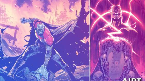 DC Comics returns to Tales from the Dark Multiverse with two new one-shot stories.