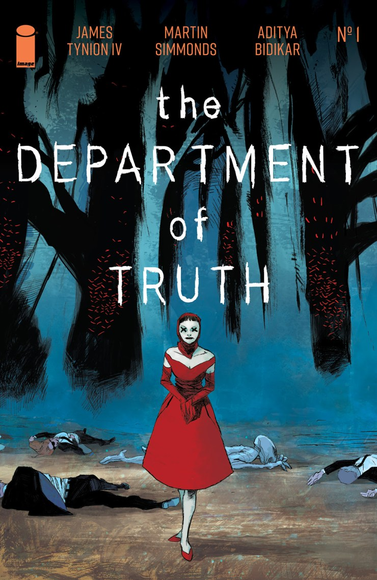 The Department of Truth Variant cover