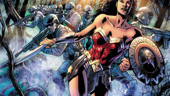 Wonder Woman is on a mission to save the innocents caught in the crossfire!