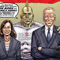 'Savage Dragon' endorses Joe Biden in new cover