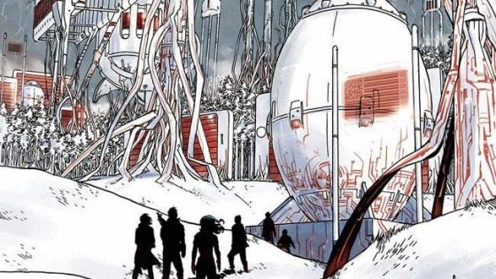 Undiscovered Country continues to have interesting sci-fi ideas worth reading.