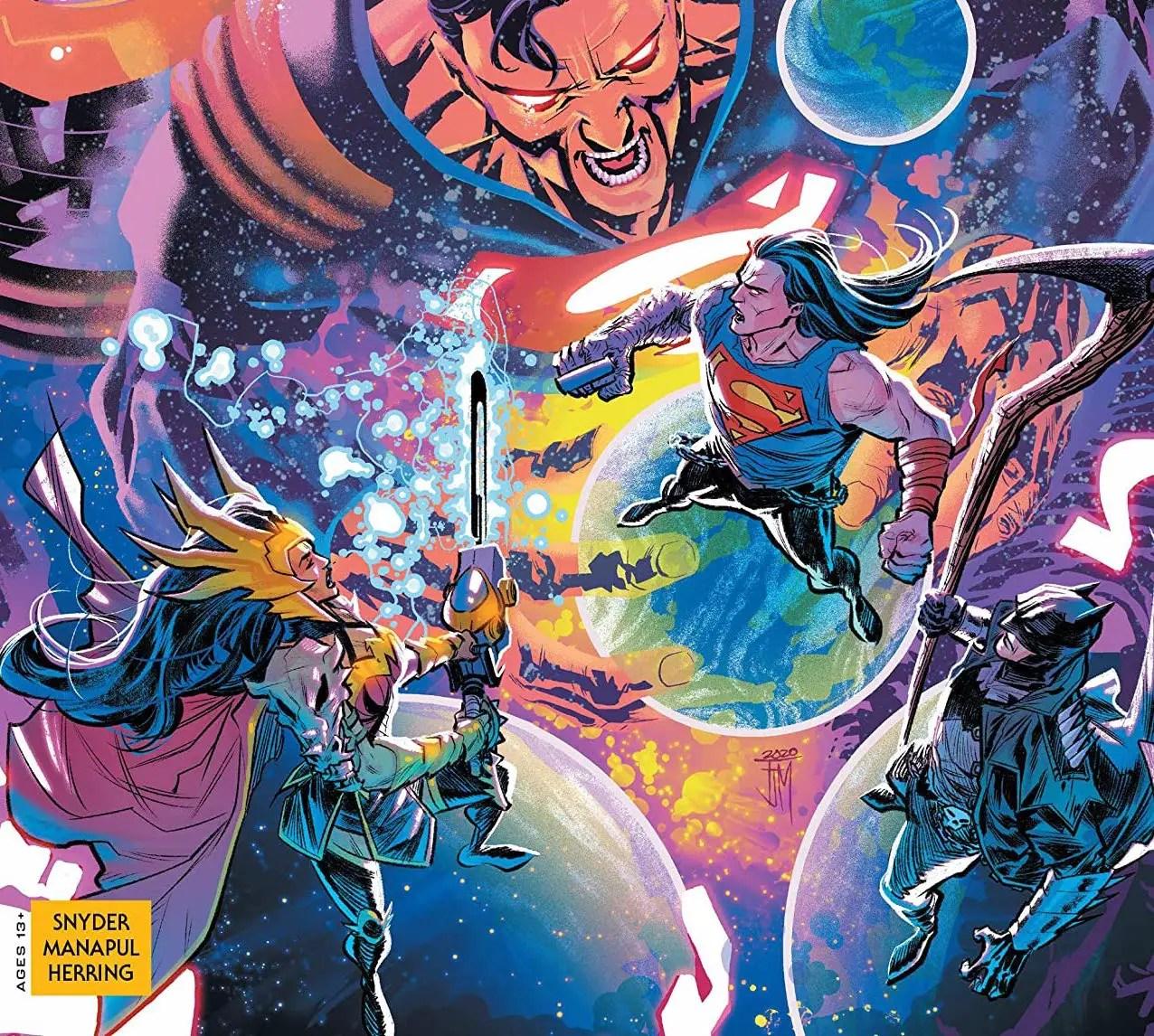 'Dark Nights: Death Metal Trinity Crisis' #1 review