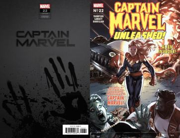 CAPTAIN MARVEL 22 CAPTAIN MARVEL UNLEASHED HORROR VARIANT-min