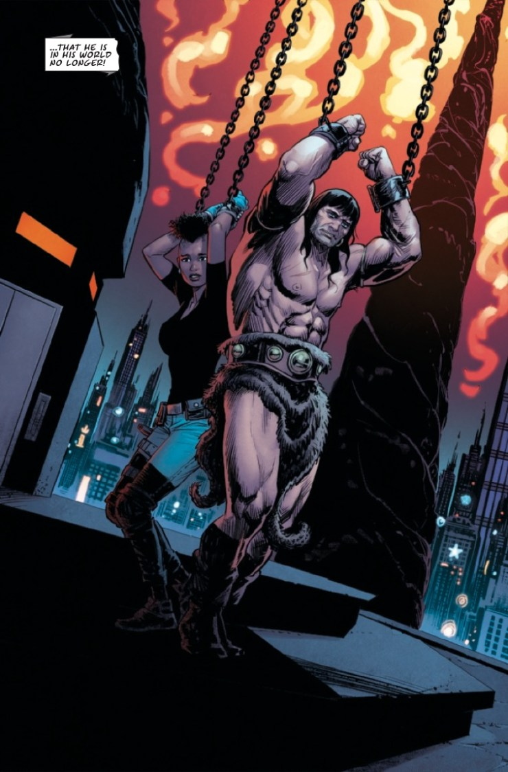 Marvel Preview: Conan: Battle For The Serpent Crown #5
