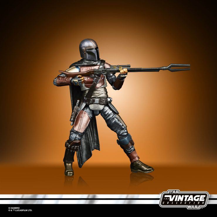 Hasbro unveils new Mandalorian repaints for Black Series and Vintage Collection