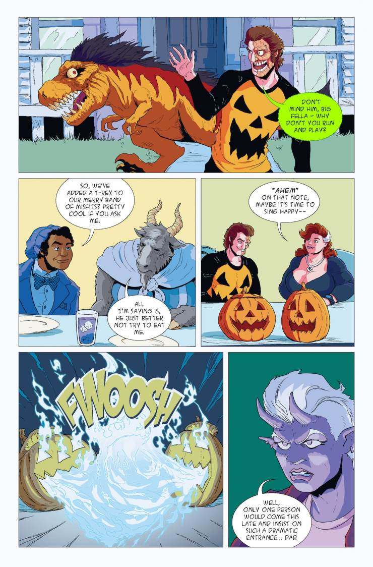 EXCLUSIVE Sugar Skull Media/Comixology Preview: Halloween Man: Beyond October #1