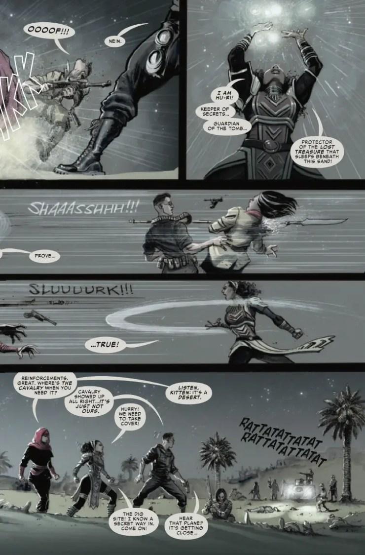 Marvel Preview: Spider-Man Noir #4