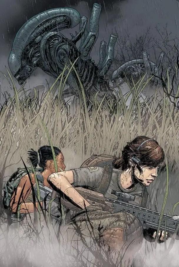 'Aliens Resistance' by Tristan Jones