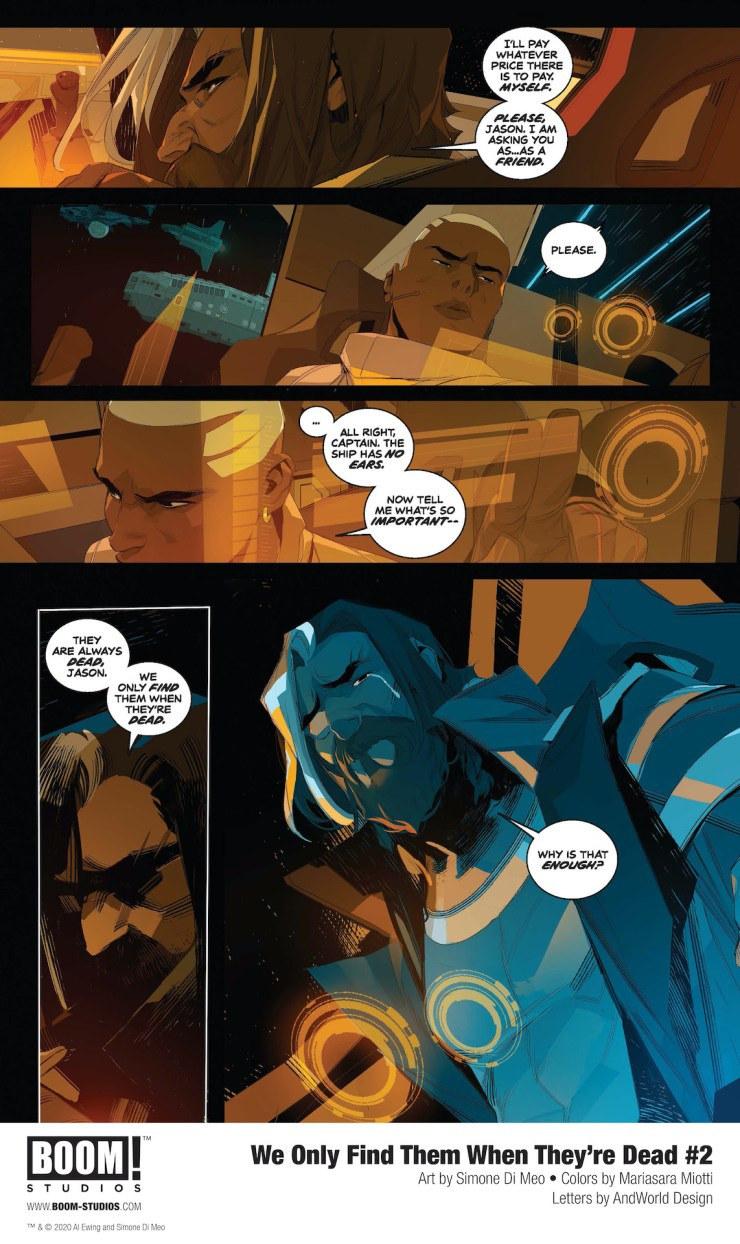 BOOM! Preview: We Only Find Them When They're Dead #2