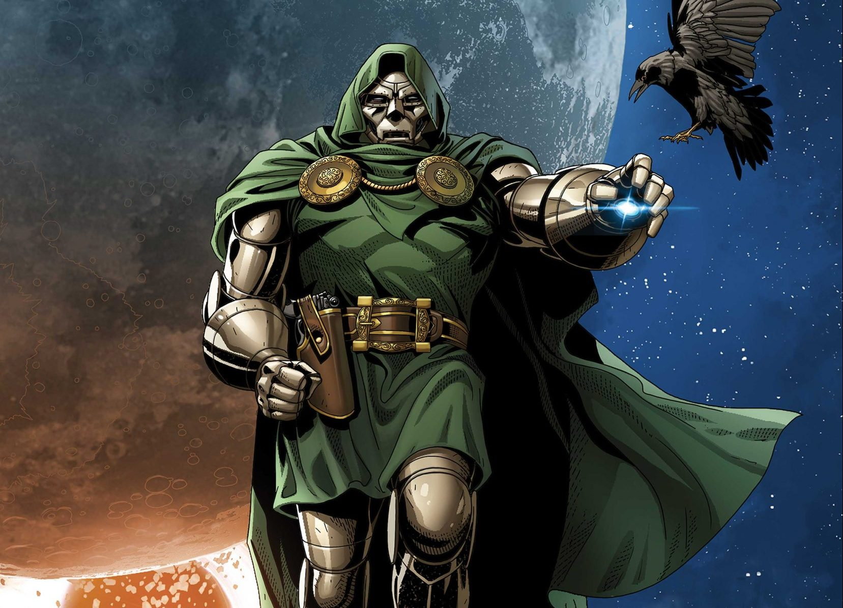 Doctor Doom Cover