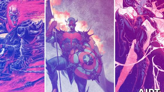 Marvel reveals Knull superhero mashup covers for December 'King in Black' event