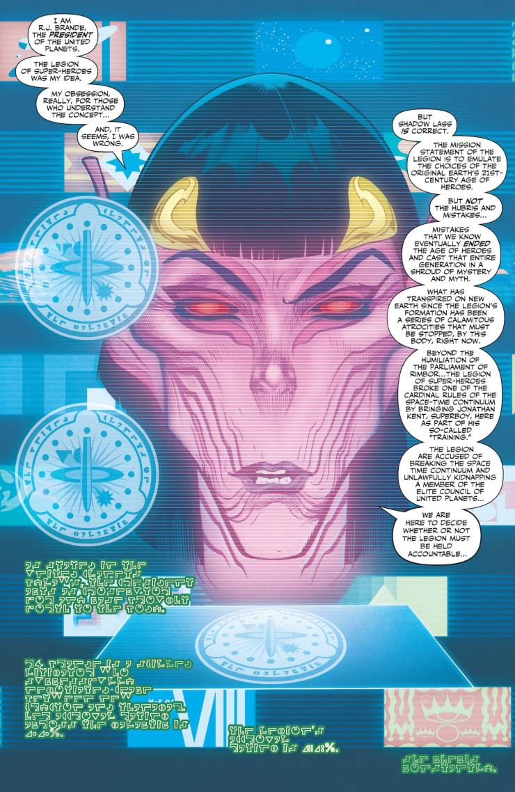 DC Preview: Legion of Superheroes #9