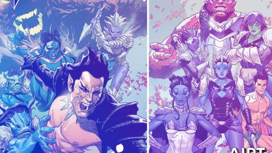 Namor getting 5-part 'King in Black' miniseries from must-read 'Autumnlands' and Scharf/Yu team