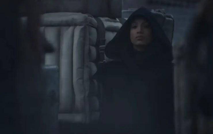 Sasha Banks as a Jedi in The Mandalorian Season 2