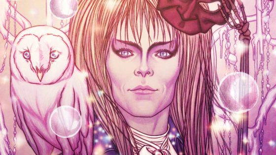 'Jim Henson's Labyrinth: Masquerade' #1 has two covers one by Jenny Frison and the other by Evan Cagle.