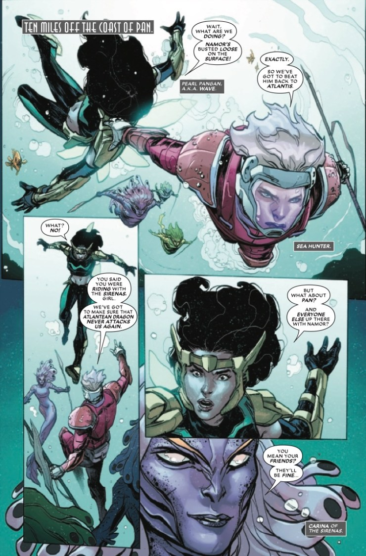 Marvel Preview: Atlantis Attacks #4