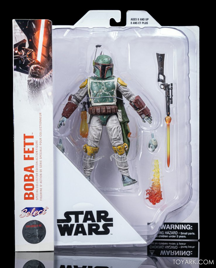 Star Wars Select Boba Fett 1